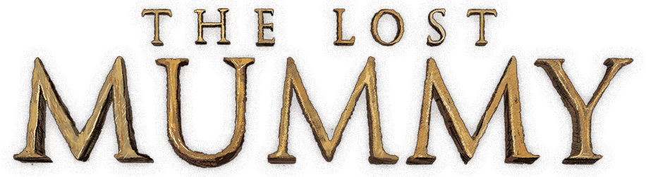 The lost mummy logo