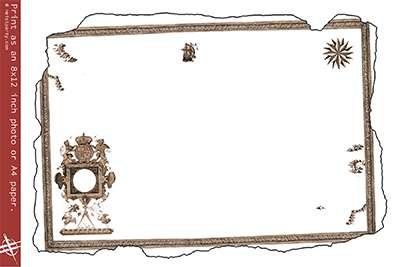 15 printable treasure map templates arrggh outlines for custom paper maxwellsz